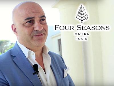 En vidéo : Ahmed Khalaf présente le Four Seasons Hotel Tunis et dessine l'avenir du Tourisme à Tunis