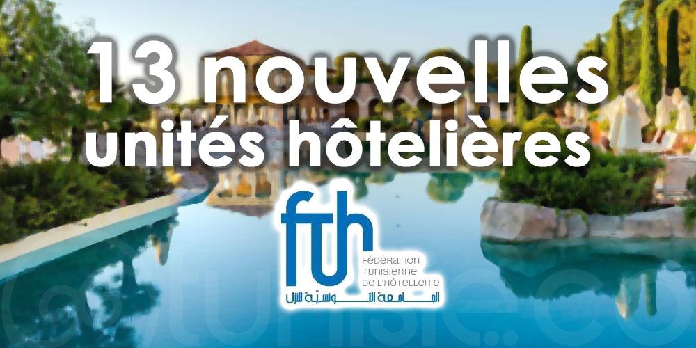 13 nouvelles unités hôtelières ont rejoint la FTH cette année