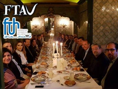 En photos : Quand un Iftar réunit la FTH et la FTAV