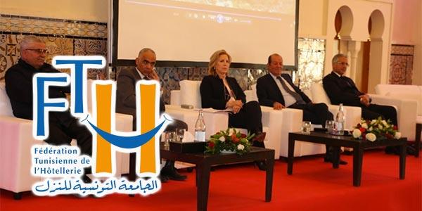 Les nouveaux 10 élus de la Fédération Tunisienne de l´Hôtellerie
