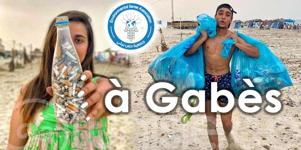 Action collective et mobilisation des jeunes: Ensemble pour la propreté des plages de Gabès