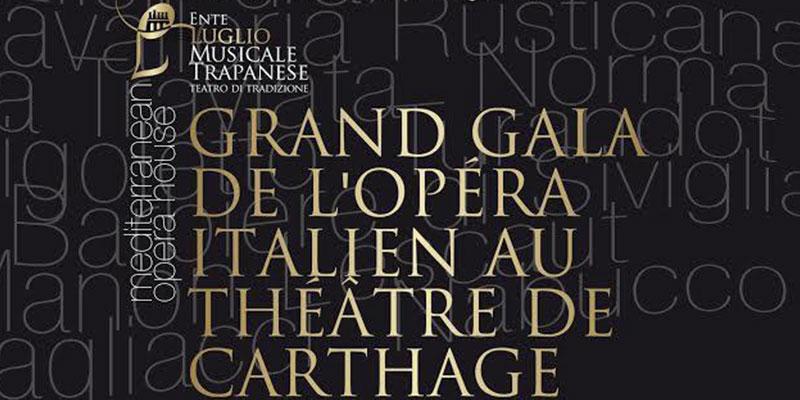 Le Grand Gala de l'Opéra Italien au Théâtre romain de Carthage