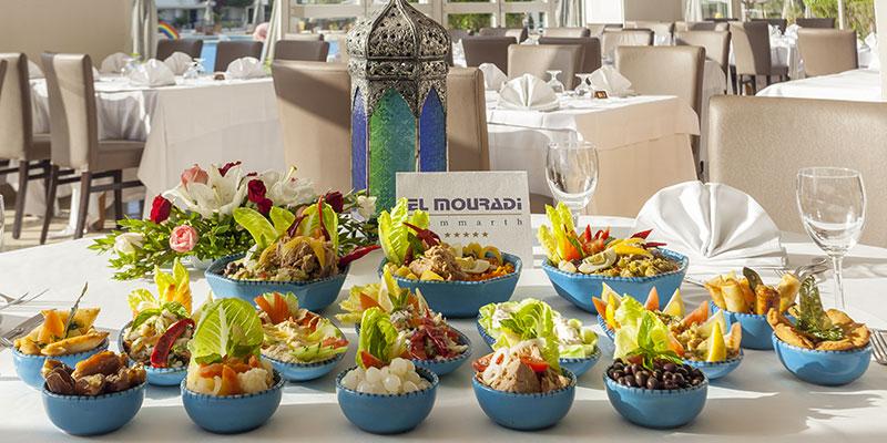 Découvrez le buffet Iftar exceptionnel de l'Hôtel El Mouradi Gammarth