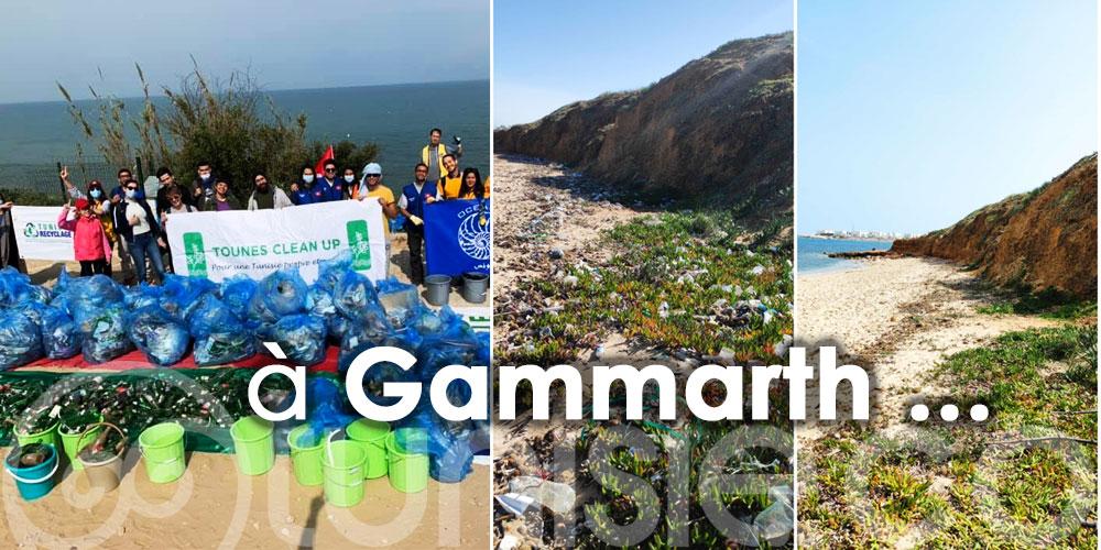 Oceanis تونس: Une campagne pour une plage plus propre à Gammarth