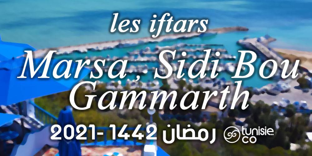 Liste des Iftars : La Marsa, Sidi Bou Saïd et Gammarth