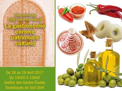 La gastronomie comme patrimoine culturel à l'Institut des Hautes Etudes Touristiques de Sidi Dhrif
