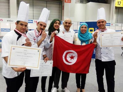 En photos: 4 médailles attribuées à la Tunisie au Festival international de la gastronomie à Istanbul