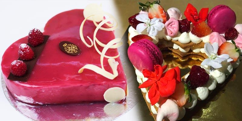 En photos : Célébrez votre amour avec ces jolis gâteaux de Saint-Valentin