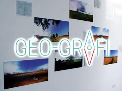 En vidéo : Le nouvel ordre mondial thème GEO-Grafi à B'Chira Art Center
