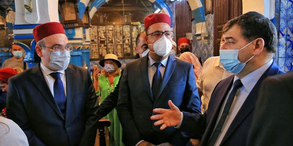 Hichem Mechichi visite la Ghriba dans des circonstances exceptionnelles