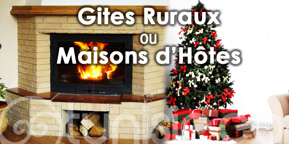 Passez Noël cette année dans des gîtes ruraux ou maisons d'hôtes