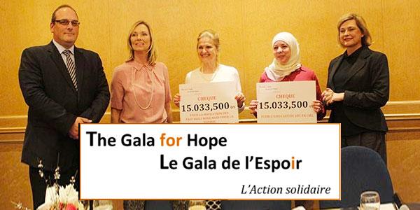 Plus de 30 000 Dt collectés lors du 'Gala De L´espoir' au Sheraton Tunis