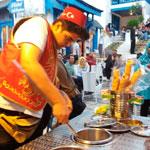 En photos : De la vraie dondurma, glace turque, à Sidi Bou Said
