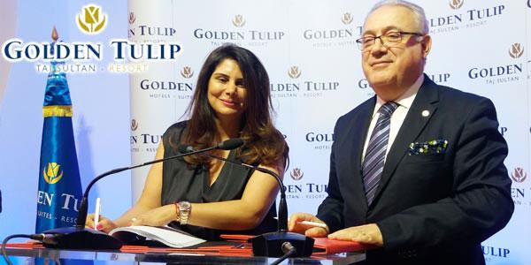 En vidéos : L´hôtel Taj Sultan Yasmine Hammamet adopte l´enseigne Golden Tulip