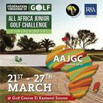 Championnat d'Afrique de Golf Juniors du 21 au 27 mars à El Kantaoui Sousse