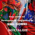 Vernissage de Nostalgie, exposition de Slim Gomri chez Art Libris