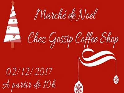 Marché de Noël chez Gossip le 2 Décembre