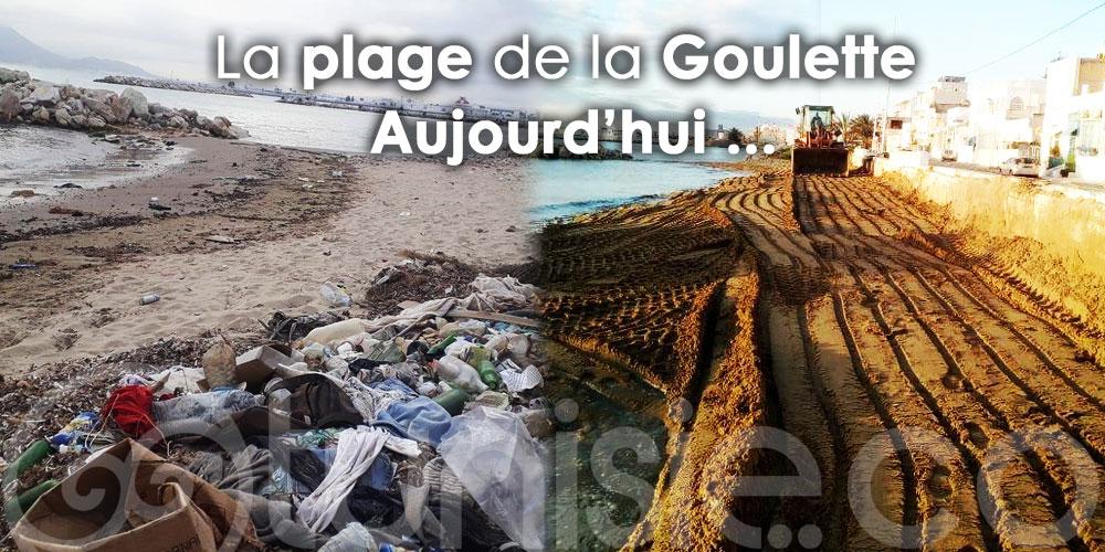Photo du jour : Plage de La Goulette embellie plus que jamais !