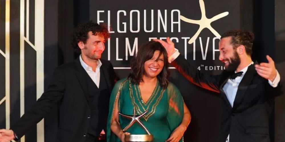 Kaouther Ben Hania remporte le prix du meilleur long métrage de fiction arabe à El Gouna
