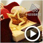 En vidéo : Découvrez deux magnifiques bûches de noël signées Le Gourmet