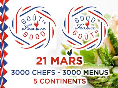 Découvrez les 18 magnifiques restaurants proposant un diner gastronomique ce 21 mars