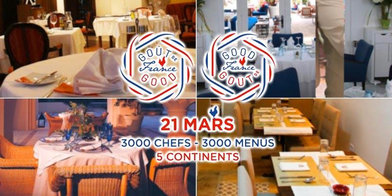 La Haute Cuisine Française dans ces 6 restaurants ce 21 mars