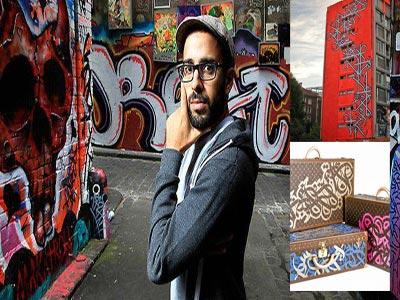 Du Street Art à Louis Vuitton, le graffeur tunisien qui envahit les murs