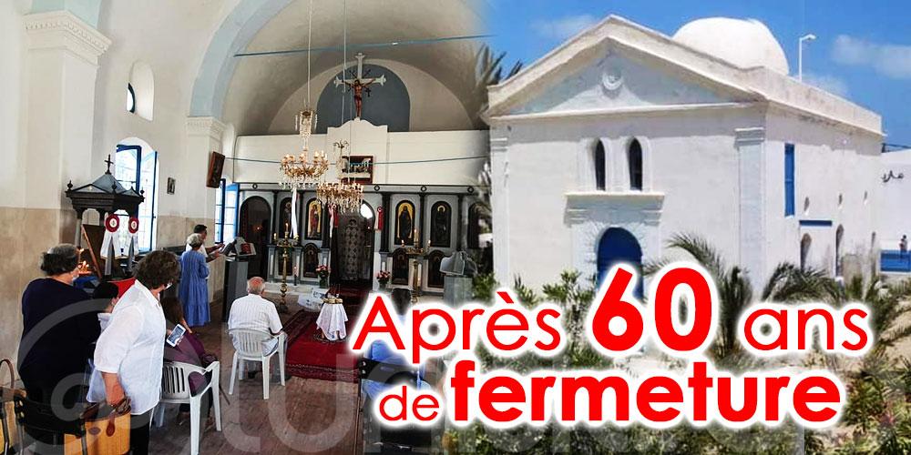 Réouverture de l'église grecque orthodoxe de Saint Nicolas à Djerba