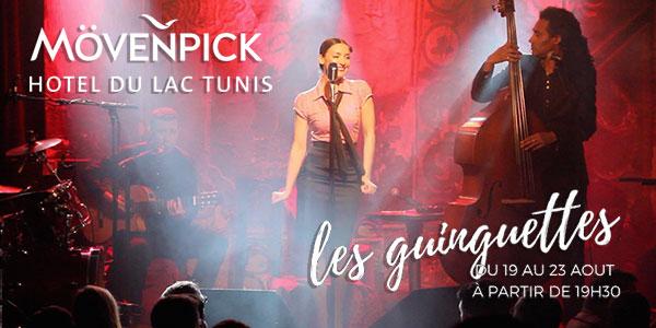 En vidéo : Les Guinguettes s'installent au Mövenpick Hotel du Lac Tunis