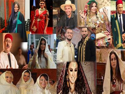 En photos, l'habit traditionnel artisanal, porté par des célébrités