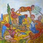 L'univers du rêve : Exposition de Ahmed Hajri à la Galerie L'Art du Temps