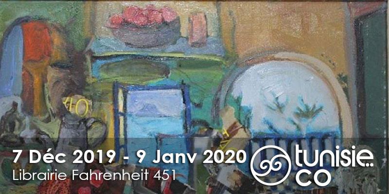 Vernissage expo/ Hamda Dniden du 7 Décembre au 9 Janvier