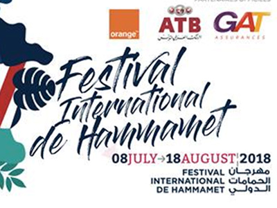 Programme du Festival de Hammamet du 8 Juillet au 18 Août 2018