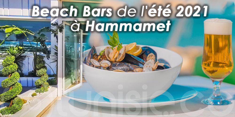 Les incontournables Beach Bars de l'été 2021 à Hammamet