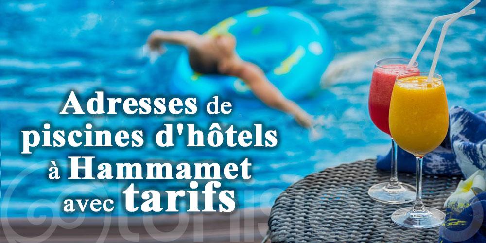 Où se baigner à Hammamet? Adresses de piscines d'hôtels avec tarifs