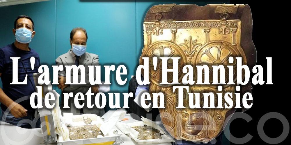 L'armure d'Hannibal de retour en Tunisie!