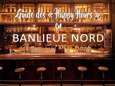 Guide des bons plans Happy Hours de la banlieue Nord de Tunis