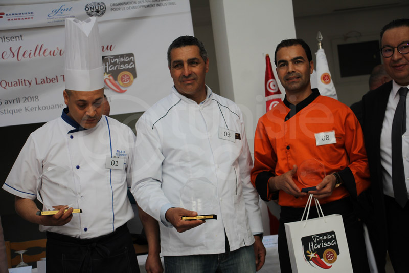 En photos : Concours du meilleur menu à base de Harissa Food Quality Label