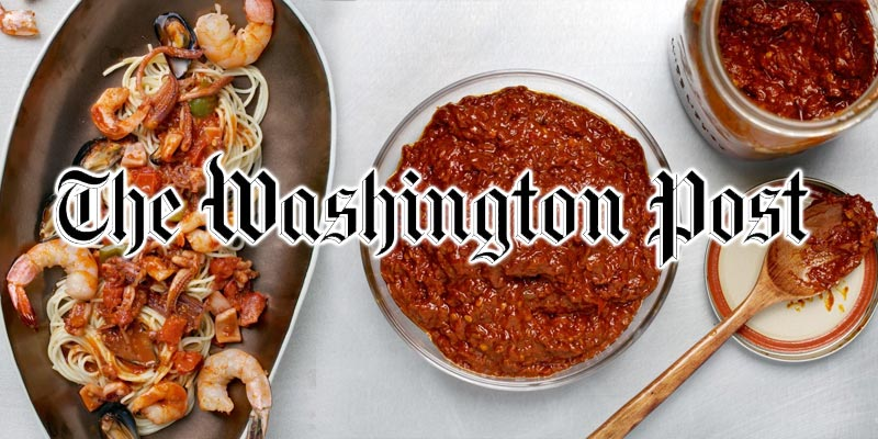 La Harissa Tunisienne en vedette au Washington Post américain