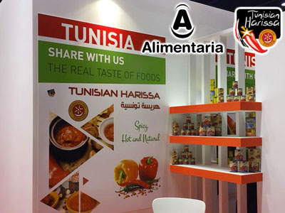 En photos : La harissa tunisienne débarque en force au Salon Alimentaria Barcelone