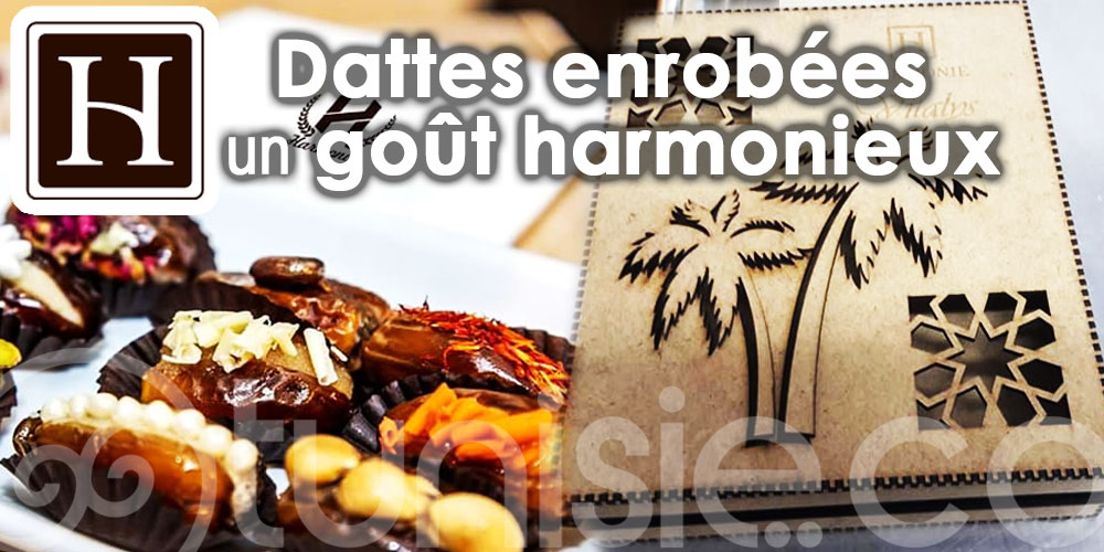Harmonie : Dattes enrobées pour un goût harmonieux