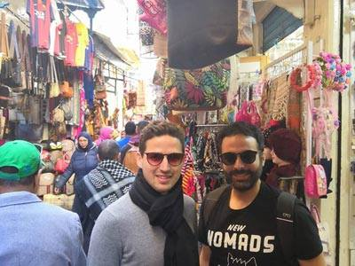 Petite ballade de Haroun à la médina du Tunis