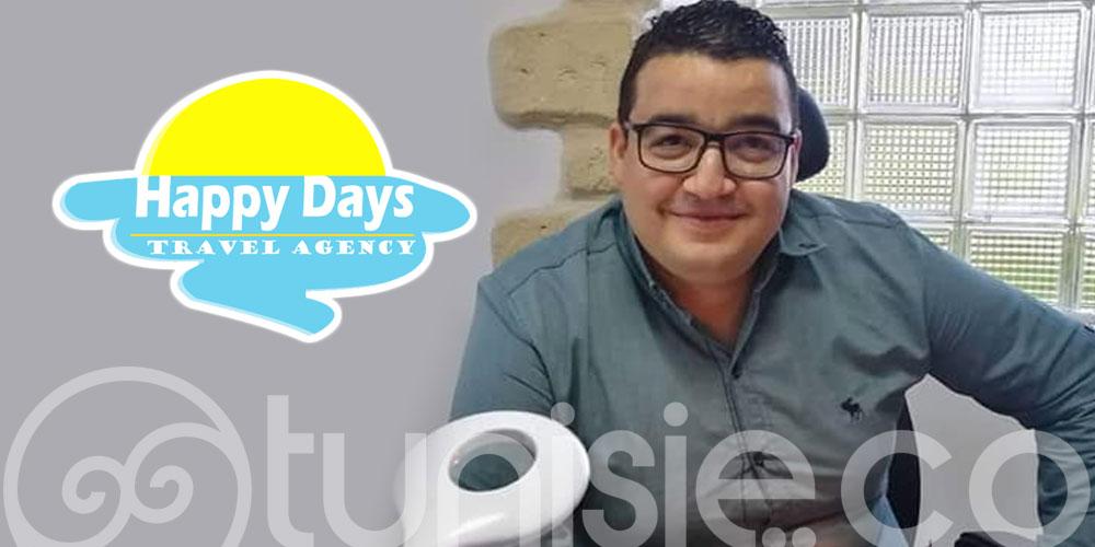 Oussama Chamsi, nouveau DG de l'agence Happy Days