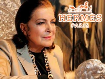 cbc44ba441 Hermès met à l'honneur la Tunisienne Leïla Menchari