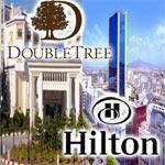L´hôtel Africa devient un Double Tree, le Palace un Hilton