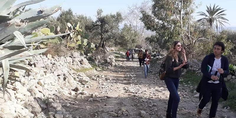 Les étudiants de l'université Paris-Sorbonne sur les traces de Rome au nord ouest de la Tunisie