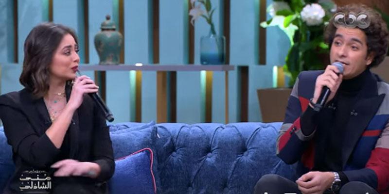 En vidéo: quand Mohamed Mohssen et Hiba Majdi chantent du Jouini