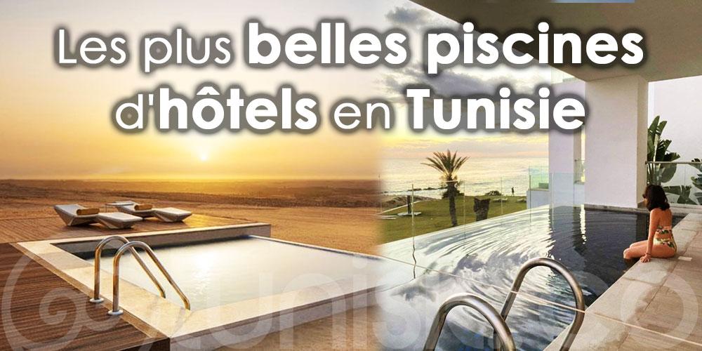 TOP piscines d'hôtels en Tunisie à couper le souffle