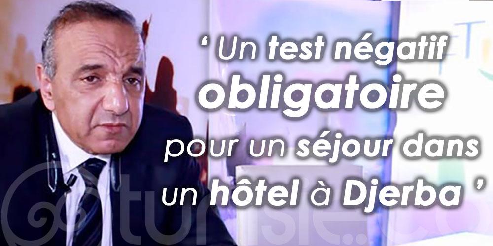 Un test négatif obligatoire pour un séjour dans un hôtel à Djerba