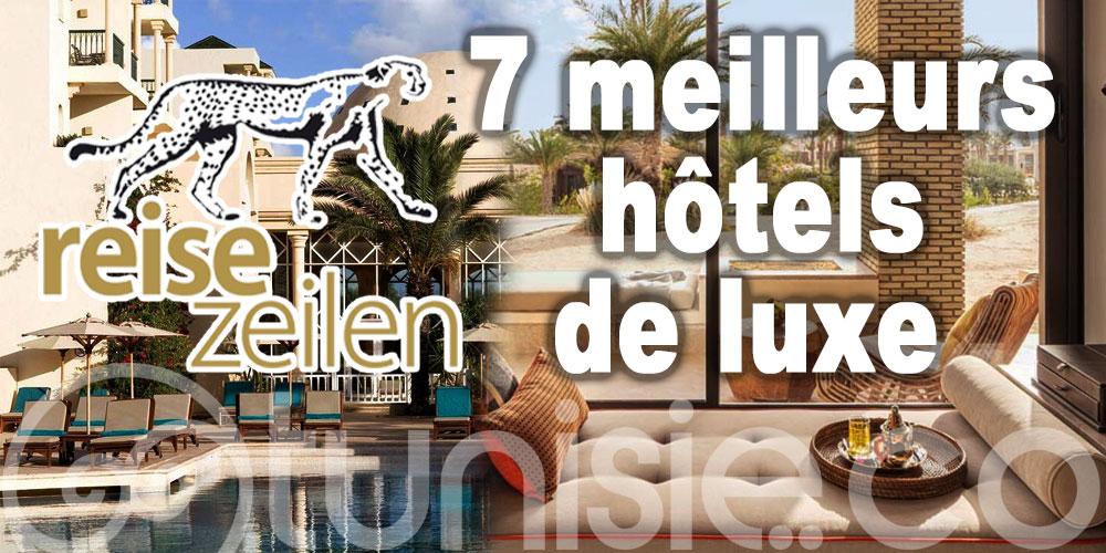 Les 7 meilleurs hôtels de luxe en Tunisie selon Reisezeilen